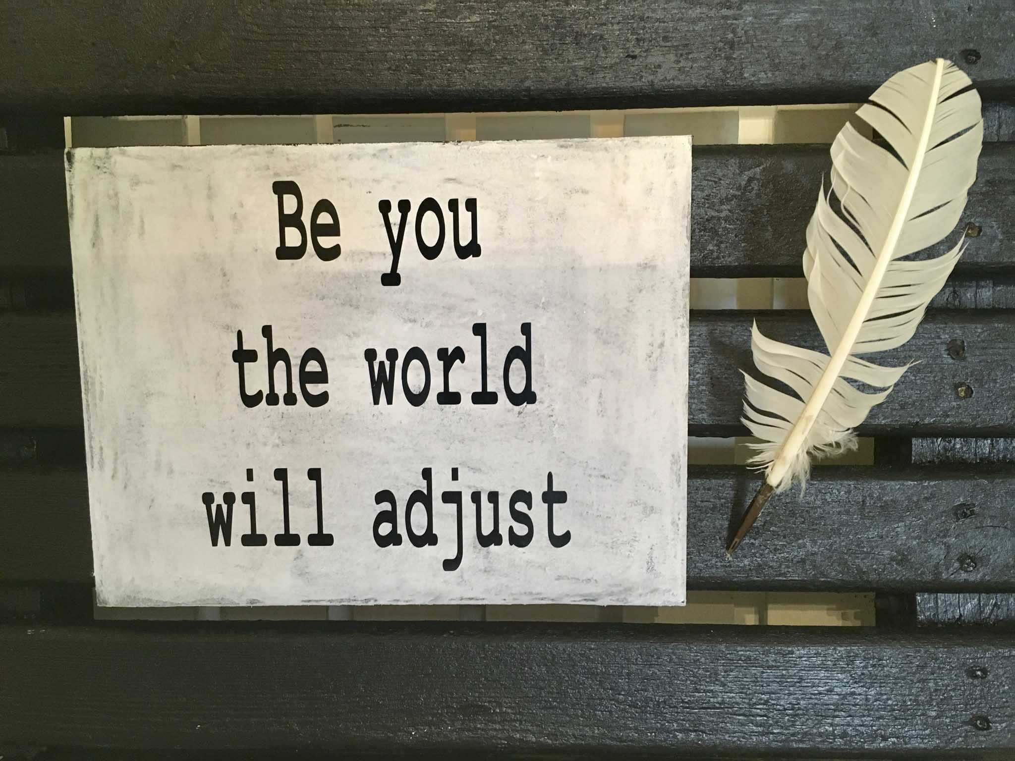 Be You And The Will Adjust