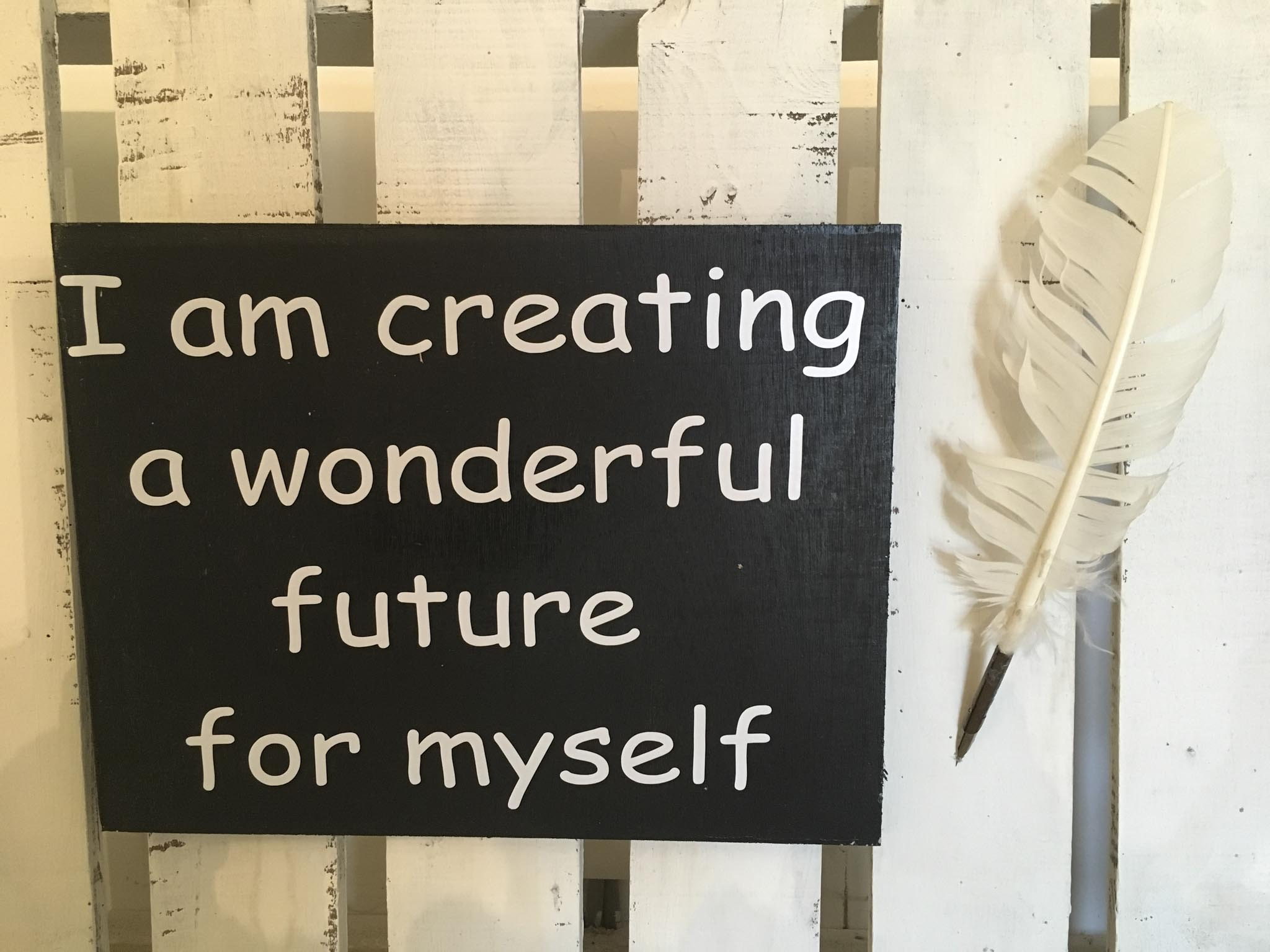 I Am Creating A Wonderful Future For Myself