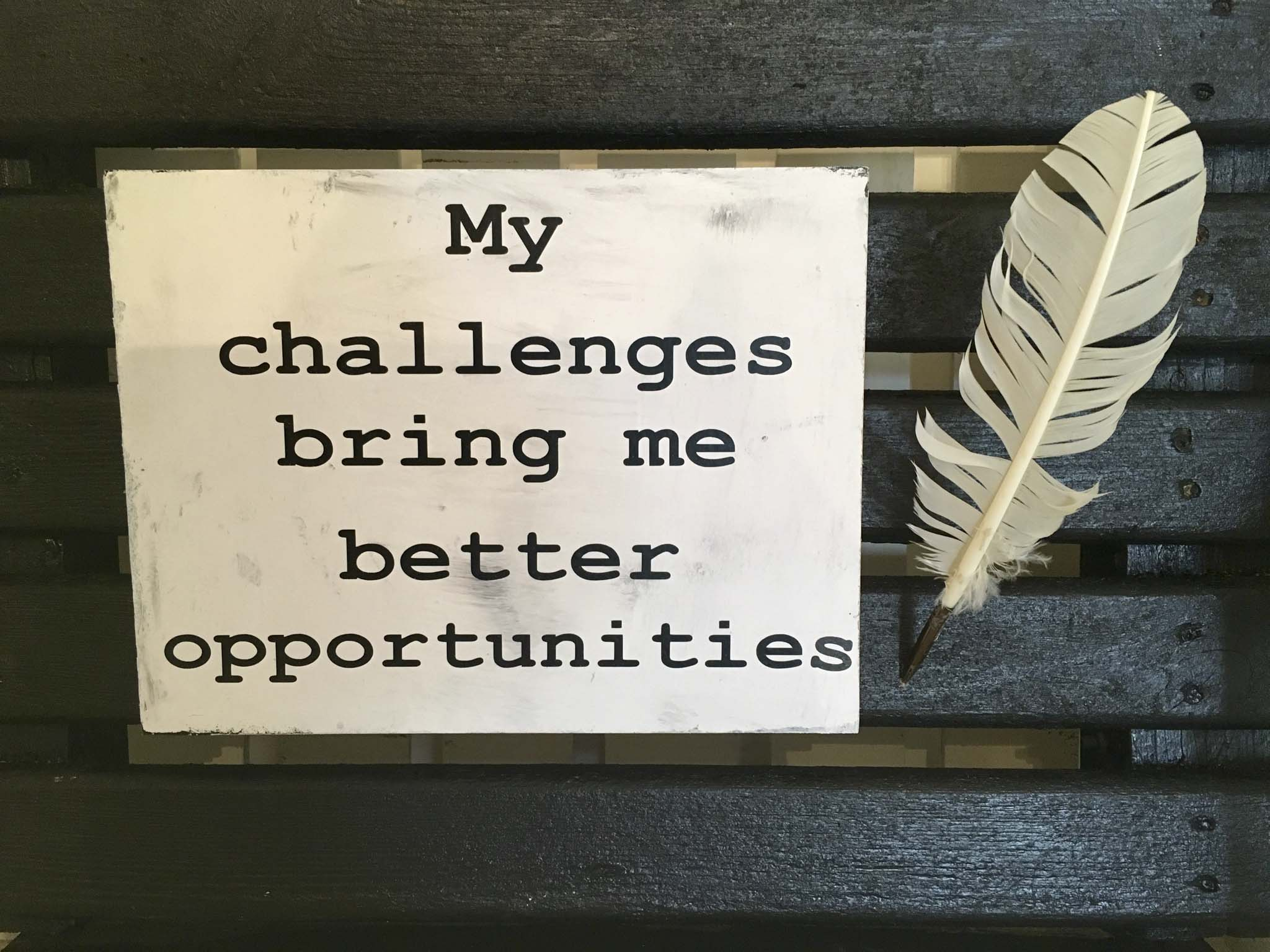 My Challenges Bring Me Better Opportunities